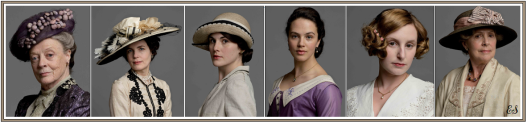 downton ladies fashion WM