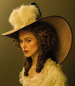 The Duchess as portrayed by Kiera Knightly